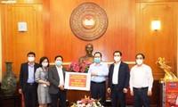 Đài Tiếng nói Việt Nam đóng góp 300 triệu đồng phòng, chống dịch covid-19