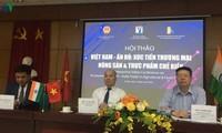 Thị trường Ấn Độ hứa hẹn tiềm năng với nông sản, thực phẩm chế biến Việt Nam
