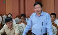 Đài TNVN làm việc với tỉnh Quảng Nam về xây dựng Trạm phát sóng ở huyện vùng cao biên giới