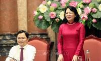 Phó Chủ tịch nước Đặng Thị Ngọc Thịnh gặp mặt gia đình trẻ tiêu biểu 2020