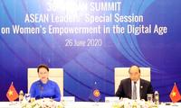 """Đại biểu đánh giá cao Phiên họp đặc biệt của ASEAN về """"Tăng quyền cho phụ nữ trong thời đại số"""""""