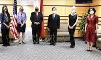 Bộ Ngọai giao Hoa Kỳ tổ chức gặp mặt kỷ niệm 25 năm thiết lập quan hệ ngoại giao Việt Nam – Hoa Kỳ