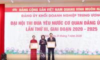 Phó Chủ tịch nước Đặng Thị Ngọc Thịnh dự Đại hội thi đua yêu nước Đảng ủy Khối doanh nghiệp Trung ương