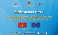 """VOV đồng tổ chức Diễn đàn trực tuyến """"Hiệp định EVFTA: Con đường đắc lợi-Con đường gian nan"""""""