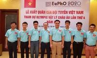Học sinh Việt Nam đoạt Huy chương Vàng tại Kỳ thi Olympic Vật lý châu Âu năm 2020