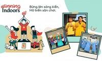 """Khuyến khích trẻ em sáng tạo thông qua Chiến dịch """"Winning Indoors"""""""
