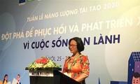 Tuần lễ năng lượng tái tạo Việt Nam 2020: Khuyến khích phát triển nguồn năng lượng tái tạo