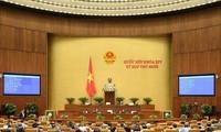 Quốc hội thảo luận về dự thảo nghị quyết chính quyền đô thị thành phố Hồ Chí Minh và thông qua nghị quyết về nhân sự