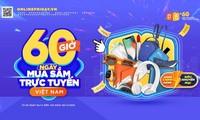 3,7 triệu đơn đặt hàng trong 60 giờ mua sắm trực tuyến Việt Nam
