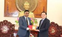 Cần Thơ thúc đẩy hợp tác với Ấn Độ về giáo dục, y tế, công nghệ thông tin