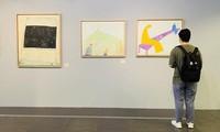 """Khai mạc triển lãm tranh """"Về bến lạ"""": hội họa cảm hứng từ thi ca"""