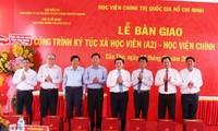Giáo sư, Tiến sỹ Nguyễn Xuân Thắng, Giám đốc Học viện Chính trị quốc gia HCM phát động chương trình trồng 1 tỷ cây xanh