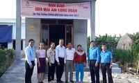 """Đà Nẵng tiếp tục hỗ trợ """"Mái ấm công đoàn"""" tặng lao động nghèo"""