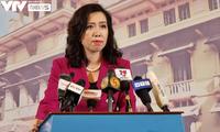 Yêu cầu Trung Quốc chấm dứt vi phạm, tôn trọng chủ quyền của Việt Nam