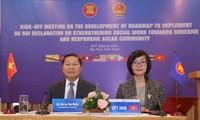 Thúc đẩy Công tác xã hội hướng đến một Cộng đồng ASEAN gắn kết và chủ động thích ứng