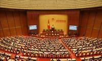 Quốc hội thảo luận về hoạt động của Quốc hội nhiệm kỳ khóa XIV