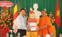 Chúc mừng Tết cổ truyền Chôl Chnăm Thmây của đồng bào Khmer