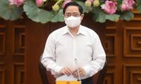 Chính phủ họp khẩn về các biện pháp phòng, chống dịch COVID-19