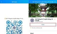 Thành phố Hà Nội sử dụng Zalo để thông tin về bầu cử