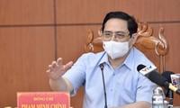 Thủ tướng yêu cầu phải thần tốc, tích cực, quyết liệt hơn nữa trong phòng, chống dịch COVID - 19