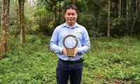 Nhà bảo tồn Việt Nam đầu tiên nhận giải thưởng lớn nhất thế giới về môi trường