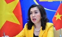 Đề nghị các bên không có các hành động làm phức tạp thêm tình hình ở Biển Đông