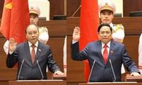 Điện mừng của lãnh đạo các nước Lào, Trung Quốc gửi Lãnh đạo cấp cao Việt Nam