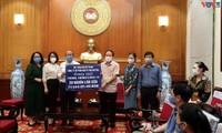 Đài TNVN đồng hành chương trình hỗ trợ người dân ở vùng dịch