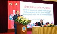 Chủ tịch nước Nguyễn Xuân Phúc: Đẩy mạnh cải cách tư pháp nhằm tiến tới xây dựng nhà nước pháp quyền
