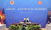 Thủ tướng Phạm Minh Chính mong muốn Australia tiếp tục ủng hộ nỗ lực của ASEAN gìn giữ hòa bình, ổn định trên biển Đông