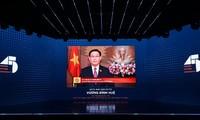 Chủ tịch Quốc hội Vương Đình Huệ tham dự Lễ Kỷ niệm 45 năm thành lập Trường Đại học Kinh tế thành phố Hồ Chí Minh