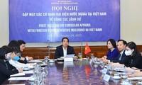 Bộ Ngoại giao đồng hành với Cơ quan đại diện nước ngoài tại Việt Nam dựa trên tinh thần hợp tác, chia sẻ trách nhiệm