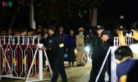 Cận cảnh thời khắc gỡ bỏ các chốt kiểm soát tại xã Sơn Lôi