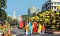 Mùa xuân trên Thành phố Hồ Chí Minh