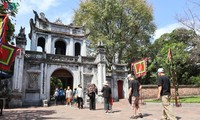 Các di tích ở Hà Nội trong ngày đầu ngày mở cửa trở lại