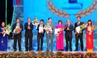 Entregan premios de prensa de Vietnam en su sexta edición