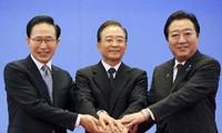 China, Japón y Corea del Sur: poner a un lado diferendos, promover cooperación