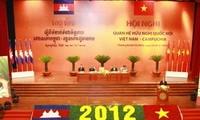 En Ciudad Ho Chi Minh Conferencia de Amistad parlamentaria Vietnam- Cambodia