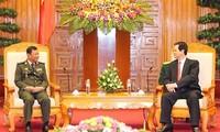 Vietnam y Cambodia estrechan lazos de cooperación militar