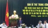 Verifican en Tay Nguyen la movilización de seguir el ejemplo de Ho Chi Minh
