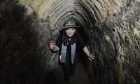 Por Twitter, Cristina Kirchner comentó su visita a los túneles de Cu Chi