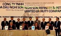 Firman proyecto de construcción del Complejo petroquímico en Thanh Hoa