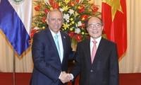 Vietnam y El Salvador ratifican su interés de incrementar la cooperación