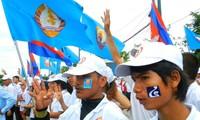 Gana el gobernante Partido Popular de Cambodia elecciones parlamentarias