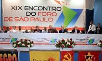 Delegación vietnamita asiste al Fórum de Sao Paulo