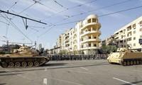 Ejército egipcio despliega blindados para enfrentar manifestaciones