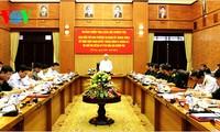 Revisan la verificación del Partido y la movilización según ejemplo de Ho Chi Minh