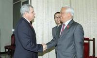 Intercambian Vietnam y Cuba experiencias de reforma constitucional