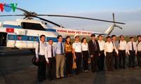 Vicedirector general de la Voz de Vietnam visita distrito insular de Truong Sa