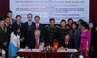 Suscriben Vietnam y Estados Unidos memorando sobre secuelas de guerra